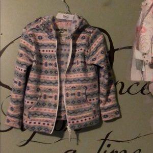 Oshkosh sweater hoodie 4T